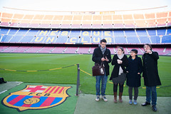 "FC Barcelona's Camp Nou stadium • <a style=""font-size:0.8em;"" href=""http://www.flickr.com/photos/95599160@N04/11082486333/"" target=""_blank"">View on Flickr</a>"