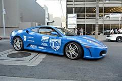 The Only Blue Color Ferrari F430 (Alan T. Photography) Tags: blue photo yahoo like automotive ferrari supercar share viral carporn ferrarf430