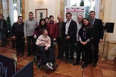 #ParaOpenDayRome (UK in Italy) Tags: uk italy rome london sport technology embassy disabled british innovation legacy 2012 paralympics london2012 paralympic disable paralympicgames alexzanardi villawolkonsky sandromarini