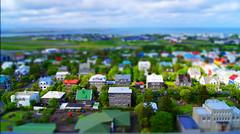 Mini Reykjavik (Lost In Seattle) Tags: tower iceland model downtown bell hallgrimskirkja shift reykjavik belltower tilt hallgrmskirkja tiltshift miniaturemodels