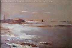 Eugenio Prati Marina di Trieste 1894 olio su tavola 16 x 22 cm Collezione privata