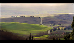 Hilly country (Fil.ippo (AWAY)) Tags: panorama landscape nikon country hill campagna tuscany pienza toscana valdorcia 18200 filippo paesaggio d7000 filippobianchi