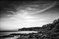 20140116-0043-Edit (www.cjo.info) Tags: ocean winter sunset sea blackandwhite seascape blur beach water monochrome coast scotland blackwhite movement sand rocks unitedkingdom seacliff motionblur coastal shore software technique northberwick slowshutterspeed exif:iso_speed=200 exif:make=fujifilm camera:make=fujifilm geo:state=scotland silverefexpro exif:focal_length=14mm superslowshutterspeed geo:countrys=unitedkingdom exif:aperture=16 silverefexpro2 highstructuresmooth geo:city=northberwick camera:model=xe1 exif:model=xe1 nikcollection exif:lens=xf14mmf28r geo:lat=56052033333333 geo:lon=26290833333333