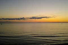 "Woodlawn Beach sunset Lake Erie • <a style=""font-size:0.8em;"" href=""http://www.flickr.com/photos/59137086@N08/12038768825/"" target=""_blank"">View on Flickr</a>"