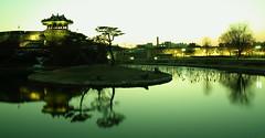 Suwon Hwaseong Fortress (HDH.Lucas) Tags: trees lake color nature landscape lucas cannon