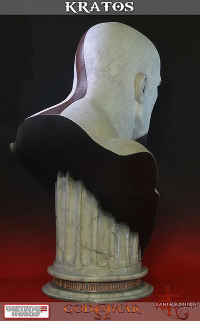 戰神Kratos真人比例胸像推薦!