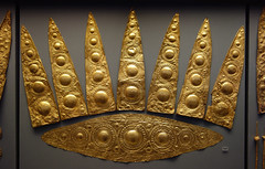 Gold Diadam from Grave Circle A at Mycenae, Greece