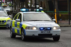 NK57 KUN (S11 AUN) Tags: car training volvo traffic police northumbria driver t5 motor roads s60 unit rpu tpac policing patrols nk57kun