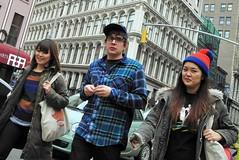 noticed, maybe (omoo) Tags: newyorkcity girls streetscene threesome girlfriends greenwichvillage 2girlsandaguy dscn7219 infrontofgracechurch broadwayandeast11thstreet noticedmaybe