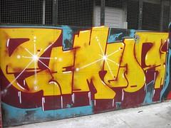 Os Gemeos - Cambuci (jACK TWO) Tags: brazil urban streetart art southamerica brasil graffiti twins paint saopaulo spray sampa sp shutters walls graff tinta samper gemeos artederua osgemeos cambuci cidadecinza pandolfo jacktwo streetartsp