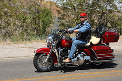 Big Red (twm1340) Tags: arizona az harley motorcycle jerome hd hog davidson 2014 13apr2014