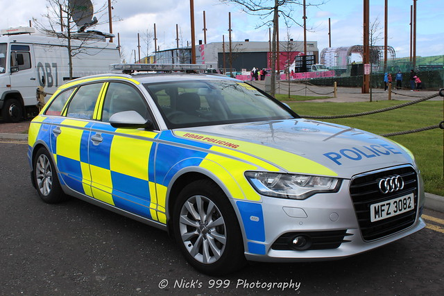 ireland estate police service roads northern audi a6 unit policing 3062 mfz