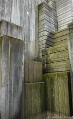 Corner - SOOC (Honario) Tags: seattle park sculpture distortion concrete moss algae freewaypark