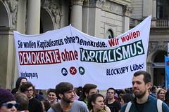 Blockupy Hamburg 170514-042 (photo.graf™) Tags: europa hamburg spd hafencity lampedusa widerstand barrikaden wasserwerfer krawalle linke demontration 170514 polzeieinsatz blockupy