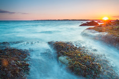 Avery Point (BSwope) Tags: ocean longexposure sunset 3 ed nikon connecticut hard ct stop filter 09 nd hitech f3545g groton d600 gnd averypoint newlondoncounty 1835mm