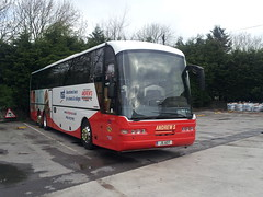 20140502_075059 Andrew's, Tideswell J5 AOT (Skillsbus) Tags: andrews tideswell buses coaches neoplan nst pgl j5aot weardale c5cec yn56bgv