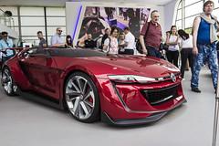 2014 Volkswagen GTI Roadster Concept (big-ashb) Tags: england car bike festival race speed canon sigma thursday goodwood chichester 1835 2014 festivalofspeed 600d