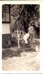 """summer 1948 three - Aunt Marie-s - Dad-s aunt • <a style=""""font-size:0.8em;"""" href=""""http://www.flickr.com/photos/42153737@N06/14387987947/"""" target=""""_blank"""">View on Flickr</a>"""