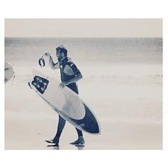 (Vallelitoral) Tags: old sea blackandwhite bw man cute blancoynegro beach water beauty vintage mar nice andalucía spain surf playa bn retro tarifa iphone flickraward iphonegraphy