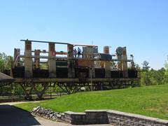 Down it goes (jamica1) Tags: ontario canada canal big marine lock railway chute 44 waterway trentsevern