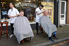 The Barberstation (Michel Lammerse - Foto Propaganda Photography) Tags: street holland hair store cut arnhem thenetherlands streetphotography klarendal barbershop shaving barber shave