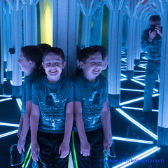 Fall into Winter - Equinox to Solstice #12 - Hall of Mirrors (elviskennedy) Tags: blue boy chicago child deathstar dscrx1rii elvis elviskennedy exhibit fallintowinter fighter fun hall hallofmirrors il illinois industry jedi kennedy kid laugh laughter maze mirror mirrors museum museumofscienceandindustry photographer photography portrait puzzle reflection returnofthejedi rx1 rx1r rx1r2 rx1rii rx1rm2 science selfportrait shirt smile sony starwars tshirt tiefighter wing wwwelviskennedycom x xwing unitedstates us