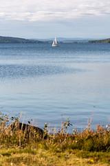 Sailboat in lake Vsman (Henrik Axelsson) Tags: bergslagen lake landsbygd ludvika segelbt sj vatten vsman water dalarnasln sverige se