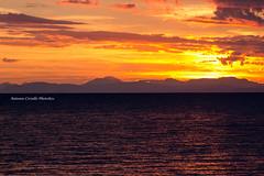 When the Sun Goes Down (Antonio Ciriello PhotoEos) Tags: sunset tramonto mare sea sole sun seascape landscape paesaggio marino nuvole clouds tamron 70300 70300vc tamron70300vc colours colori canon eos600d 600d rebelt3i taranto sanvito san vito puglia apulia italia italy capo caposanvito