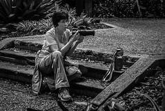 Shooter 2 (Pedro1742) Tags: photographer monochrome steps camera