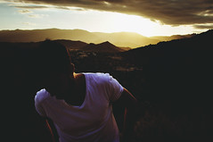 (Laura Marchini) Tags: sun sunset beauty beautiful mountain boy man sky summer skyline skin life days fire pic picture photography photo digital nikon nikond90 hot colours burn clouds emotions travel journey adventure atmosphere nature natural light wind wile wild film