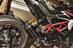 Even the street toy needs some upgrades (silky07) Tags: mgpexhaust 821hyper hypermotardsp ducati hypermotard ducatihypermotard