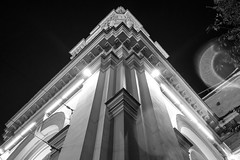 Ekaterininskaya church (Suicidal_zombie) Tags: russia russie saintpetersburg saint petersburg stpetersburg evening night dark low light ortodoxy church bw monochrome monotone
