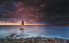 Faro Baliza del Rosal, San Vicente de la Barquera (Mer SGarca) Tags: faro sealihght seahouse faros balizas mar sea cantabria cantbrico cantabriaturismo cantabrialuz canon5dmarkiii canon1740l luz light color colours otoo autumm