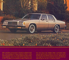1985 Buick LeSabre Collector's Edition 4 Door Sedan (coconv) Tags: car cars vintage auto automobile vehicles vehicle autos photo photos photograph photographs automobiles antique picture pictures image images collectible old collectors classic ads ad advertisement postcard post card postcards advertising cards magazine flyer prestige brochure dealer 1985 buick lesabre edition 4 door sedan 85 le sabre