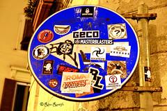 Roma. Rione Monti. Street art-sticker art (R come Rit@) Tags: italia italy roma rome ritarestifo photography streetphotography rionemonti rione monti streetart arte art arteurbana streetartphotography urbanart urban wall walls wallart graffiti graff graffitiart muro muri streetartroma streetartrome romestreetart romastreetart graffitiroma graffitirome romegraffiti romeurbanart urbanartroma streetartitaly italystreetart contemporaryart artecontemporanea artedistrada sticker stickers stickerart stickerbomb stickervandal slapart label labels adesivi signscommunication roadsign segnalistradali signposts trafficsignals