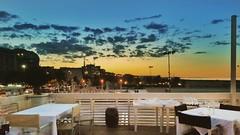 Lido Bianco (Alberta Verrocchio) Tags: italy pescara italia spiaggia lungomare riva cena tramonto sunset colori romantico estate