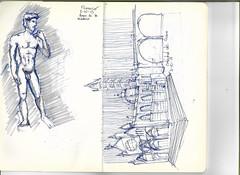 Croquis 1 1 (Andrs Goi :: www.andresgoni.cl) Tags: sketch croquis dibujo arquitectura lapiz mano handwrite architecture europa inglaterra england london train tren italy italia florencia firenze sienna