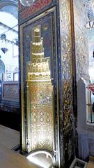 Konya - Mevlana Turbesi, shrine interior, mihrab (damiandude) Tags: rumi dervish sufi