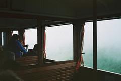 (Carla Andrea Tamara Tonesi) Tags: larrun mountain tren train winter fog petri color 35mm film