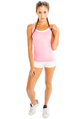 Workout in Style with Comfy Baby Pink Camisole Online from Alanic (alanic501) Tags: comfy baby pink camisole
