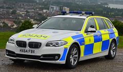 Hampshire Constabulary   BMW 530D   Roads Policing Unit   5509   HX64 FBV (Chris' 999 Pics) Tags: hampshire police constabulary bmw 530d 5 series 5series 530 traffic car rpu roads policing unit cop cops hx64fbv law enforcement 999 112 photoshoot