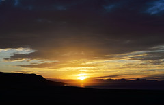 No Use Wasting Another Good Sunset (JasonCameron) Tags: sunset antelope island utah great salt lake clouds sky colors mountain beach