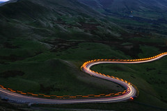 Edale S (PentlandPirate of the North) Tags: mamtor road gritter s light streakes trails flashing orange