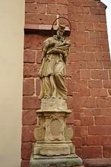Nepomuk figure in Bolków