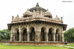 DSC5593 Tumba de Masnad Ali Isa Khan, 1547-48, Delhi (Ramón Muñoz - ARTE) Tags: delhi india mausoleo tumba de masnad ali isa khan