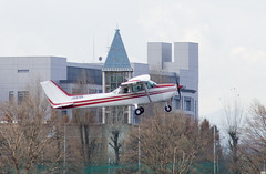 A SMALL AIRPORT, SOME PARKS AND CLOUDS - LIX (Jussi Salmiakkinen (JUNJI SUDA)) Tags: chofu tokyo japan cityscape park airport sky cloud aircraft wood airplane lateautumn earlywinter landscape