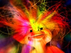 Lichtspielerei (ingrid eulenfan) Tags: macromondays macro makro mysterious geheimnisvoll figur licht effekt troll