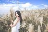 IMG_1107 (Yi-Hong Wu) Tags: 芒花 芒草 秋芒 季節 花 草 女孩 女 女生 女子 女人 女性 外拍 煙 eos6d 可愛 性感 美 唯美