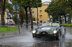 Aston Martin DB3S (Marcinek_55) Tags: hrg le mans lightweight mille miglia desenzano del garda 2016 supercar supercars hypercar hypercars sportcar sportcars car cars gran turismo gt italy cernobbio como lake concept classic performance blue marcin wojciechowski photography sony a57 fast trees exotic exotics exoticsonroad road gespot autogespot power outdoor vehicle mercedes sl300 300sl sl 300 gullwing coupe historical aston martin db3s roadster millemiglia may