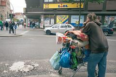 Forward to Karl-Marx-Straße. Neukölln, August 2016. (joelschalit) Tags: berlin neukölln street poverty class deutschland germany austerity neoliberalism lidl supermarket homeless ricohgr